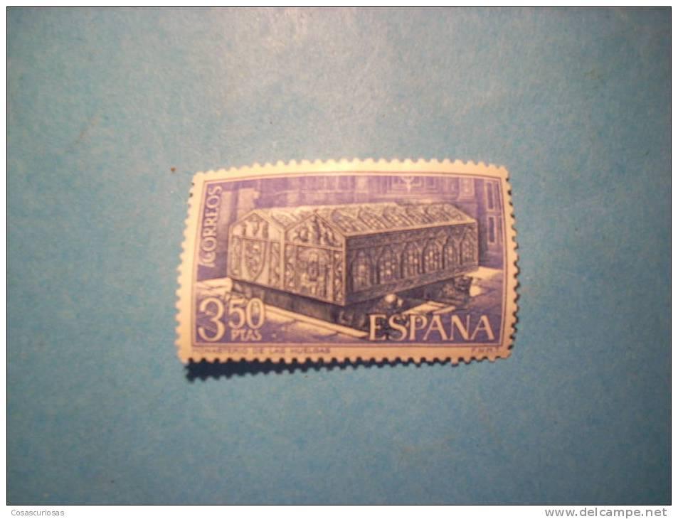 R131  SELLO  ESPAÑA  MONASTERIO DE HUELGAS  3,50 PTAS  1969  NUEVOS CON GOMA SIN FIJASELLOS PERFECTOS  MAS EN MI TIENDA - 1961-70 Neufs