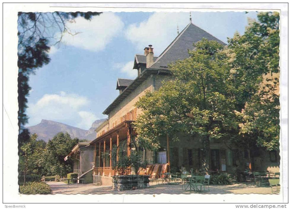 11467 CHALLES-LES EAUX - Château De Challes - Hôtel-Restaurant-Bar . Nivolet 842 Tele - France