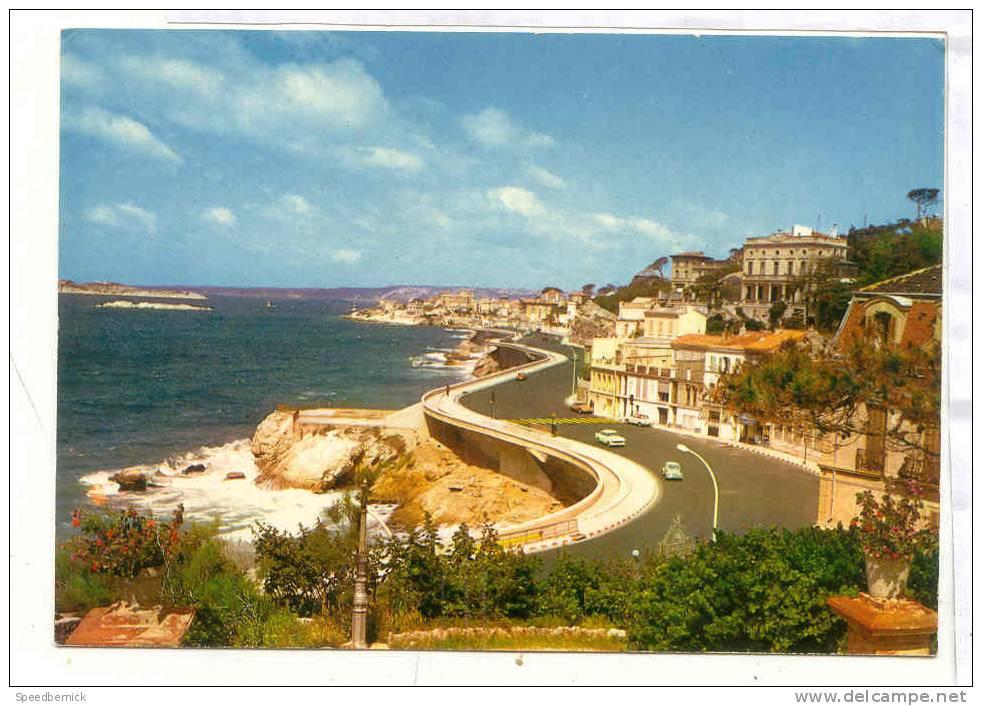 11460 Marseille , Promenade Corniche . 13 Ed De France 1046 . - Endoume, Roucas, Corniche, Plages