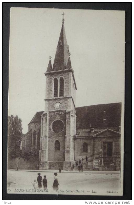39 Lons-le-Saunier Eglise    D39D  K39300K  C39300C RH038975 - Lons Le Saunier
