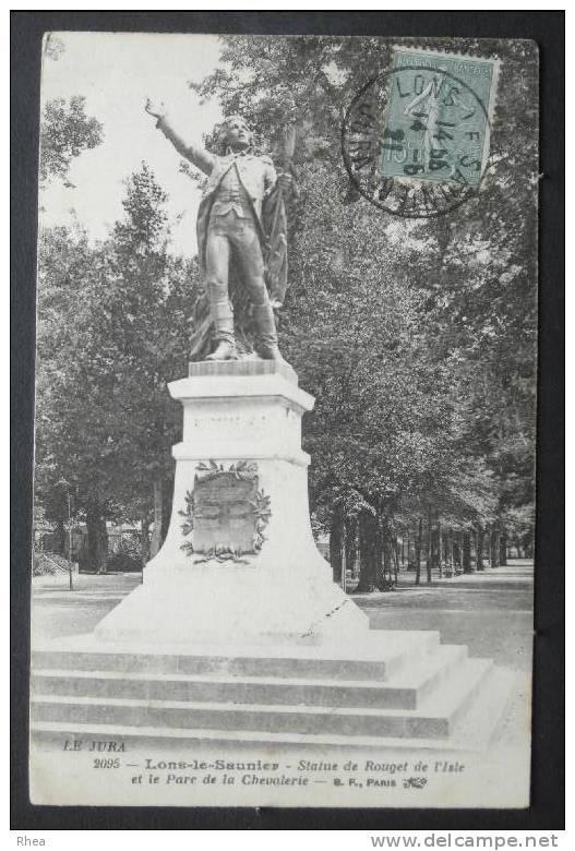 39 Lons-le-Saunier Statue Rouget De L'isle    D39D  K39300K  C39300C RH038978 - Lons Le Saunier