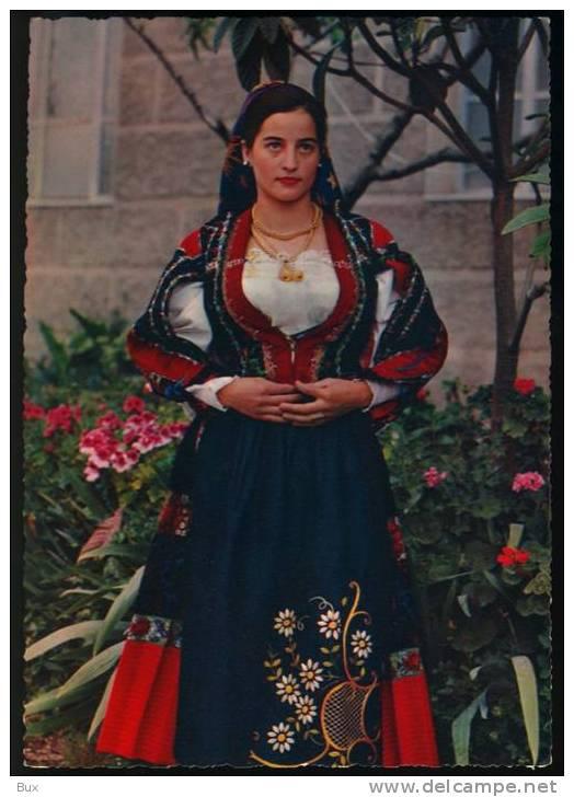 ORUNE NUORO COSTUMI SARDI  COSTUME NON VIAGGIATA COME DA FOTO ITALY ITALIE - Costumi