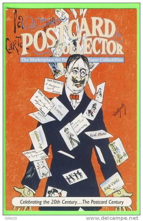 ILLUSTRATOR, VanNock - POSTCARD COLLECTOR - 20th CENTURY NATIONAL POSTCARD WEEK,1999 - - Autres Illustrateurs