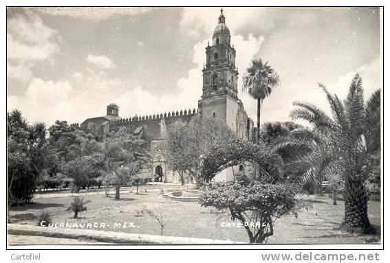 CUERNAVACA  CATEDRAL- PHOTO CARTE - Mexique