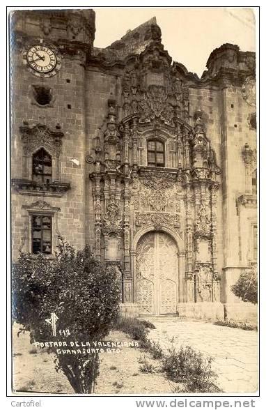 PORTADA DE LA VALENCIANA -- PHOTO CARTE - Mexique
