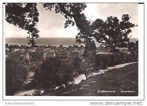 10388)cartolina Illustratoria  Grottammare - Panorama - 1900-44 Victor Emmanuel III.