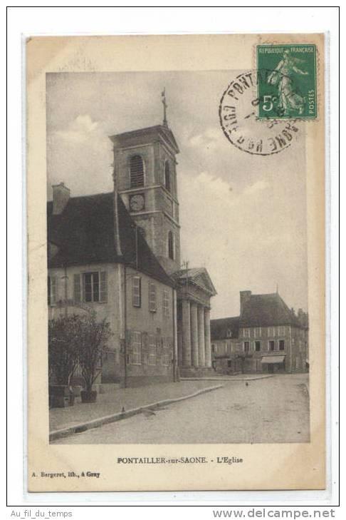PONTAILLER-SUR-SAONE , L'EGLISE - France