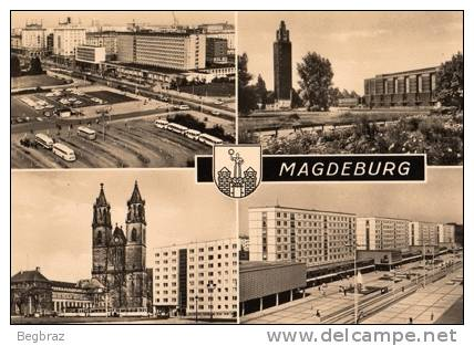MAGDEBURG      ALLEMAGNE DE L EST - Magdeburg