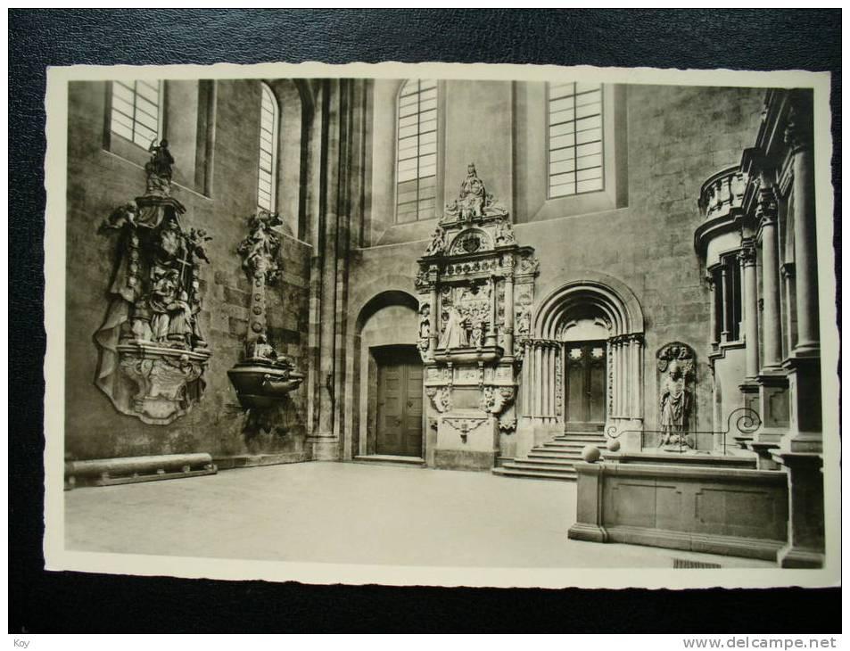 SÜDLICHES QUERHAUS  +  Grabdenkmäler  >>   AK  ~ 1927 * * *  XG314 - Mainz