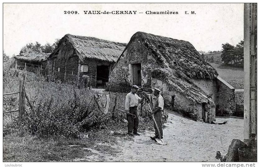 78 VAUX DE CERNAY CHAUMIERES EDIT MALCUIT - Vaux De Cernay