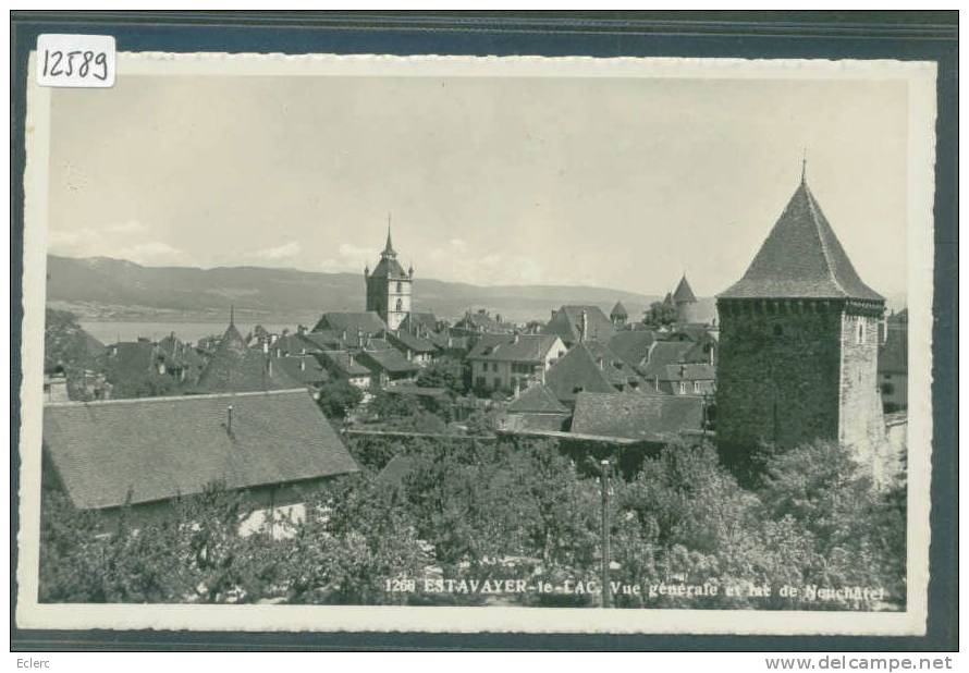 ESTAVAYER - TB - FR Fribourg