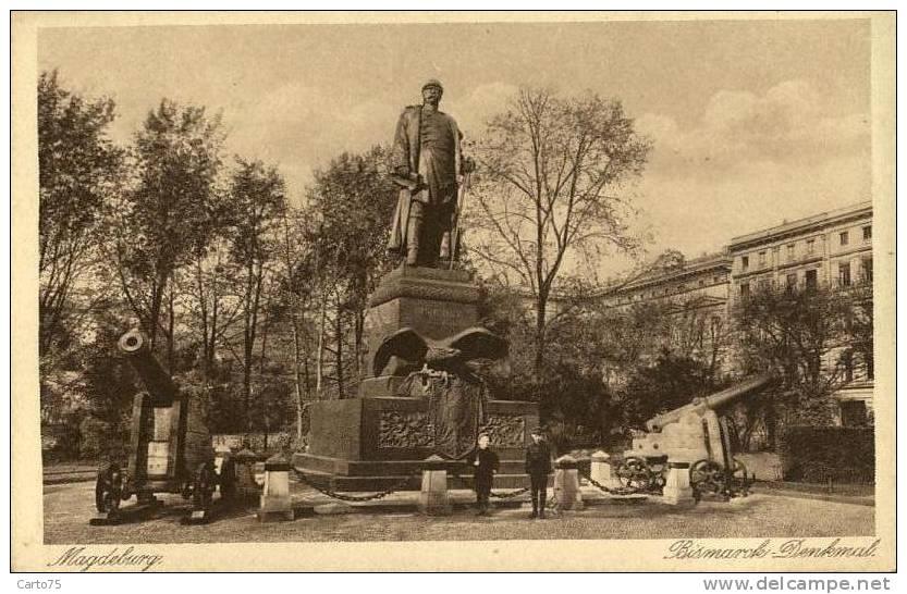 ALLEMAGNE - Magdeburg - Bismarck Denkmal - Militaria - Magdeburg