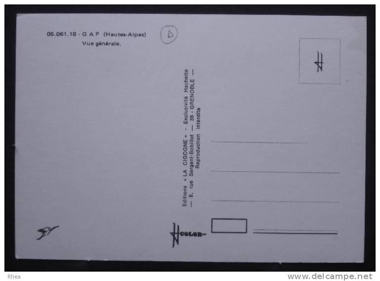 05 Gap Vue Aerienne    D05D  C05061C RH043980 - Gap