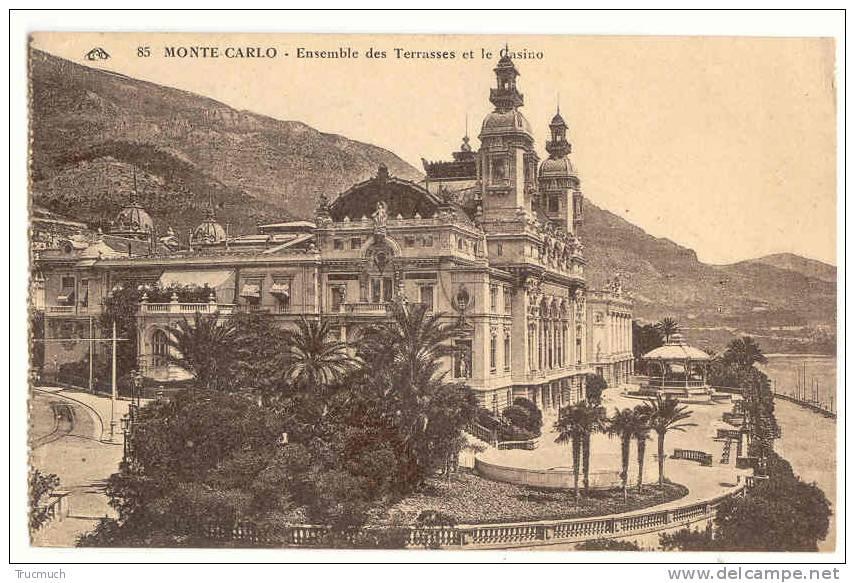 F3508 - MONTE-CARLO - Ensemble Des Terrasses Et Casino - Monaco