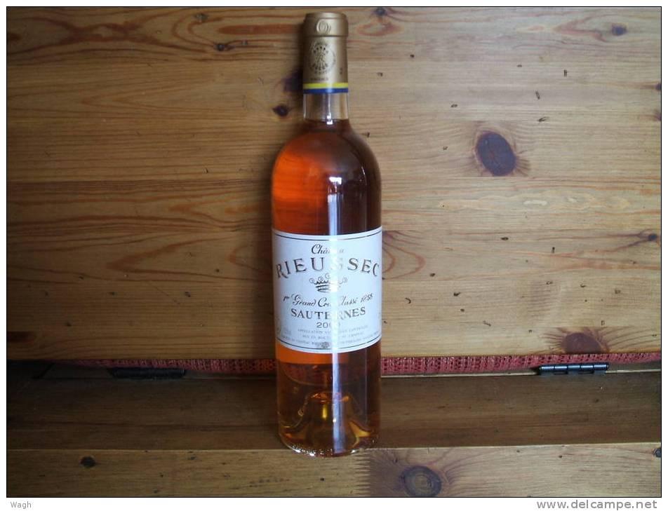 Chateau RIEUSSEC 2000 - 1er Grand Cru - Sauternes (Domaine Barons Rothschild) - Vin
