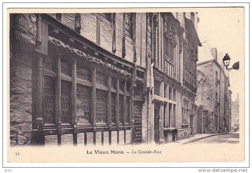 LE VIEUX MANS -  La Grande Rue - Le Mans