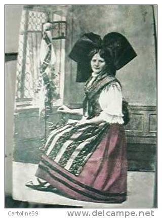 ALSACIENNE AU ROUET VB1945 Y7775 - Costumi