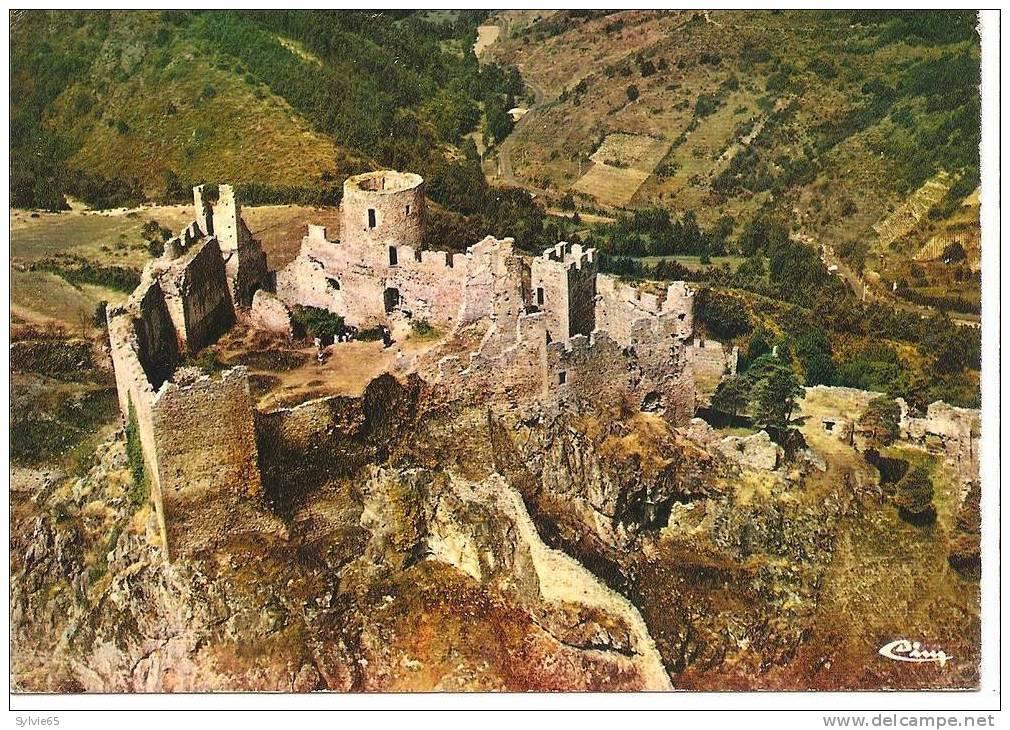 SAIL SUR COUZAN-vue Aérienne, Chateau Du Xiiè Siècle - Frankrijk