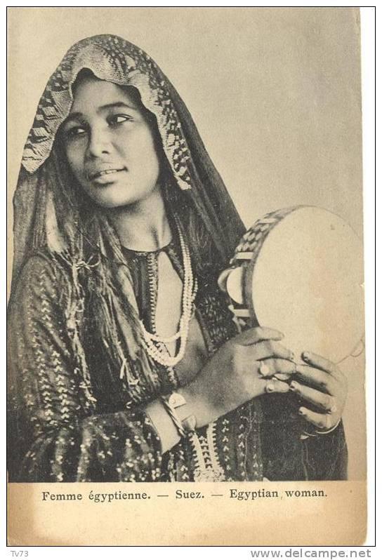 CpE2236 - SUEZ - Femme égyptienne - Egyptian Woman - (Egypte) - Non Classés