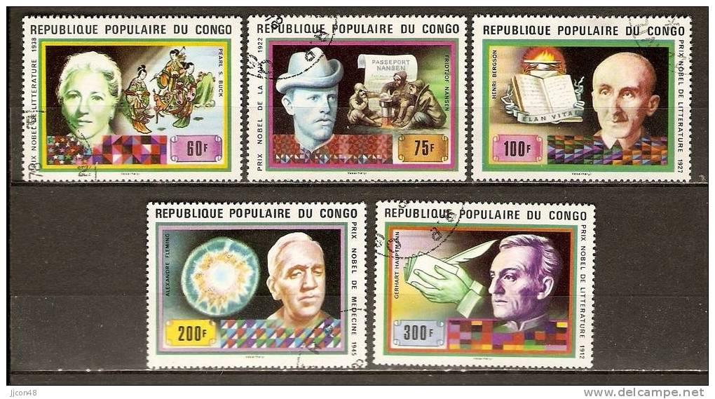 Congo 1978  Nobel Prize Winners. (o) - Congo - Brazzaville