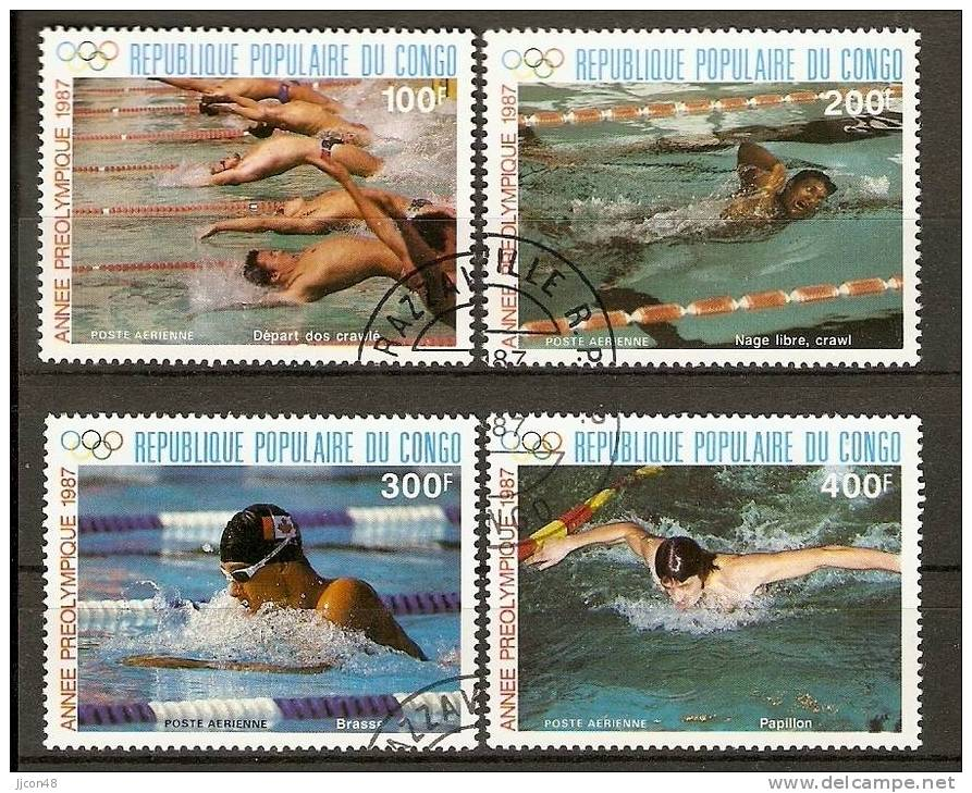 Congo 1987  Olympic Games. Seoul. (o) - Used