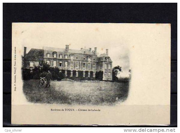 89 TOUCY (environs) Chateau De Lalande, Animée, Ed Carreau, 190? - Toucy