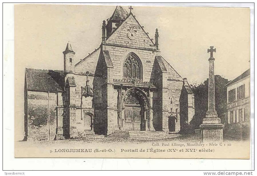11915 Longjumeau Portail Eglise  Allorge , 9 Série C1 10 - Longjumeau