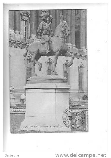 PARIS.-  Statue De Velasquez    .2180.D - Non Classés