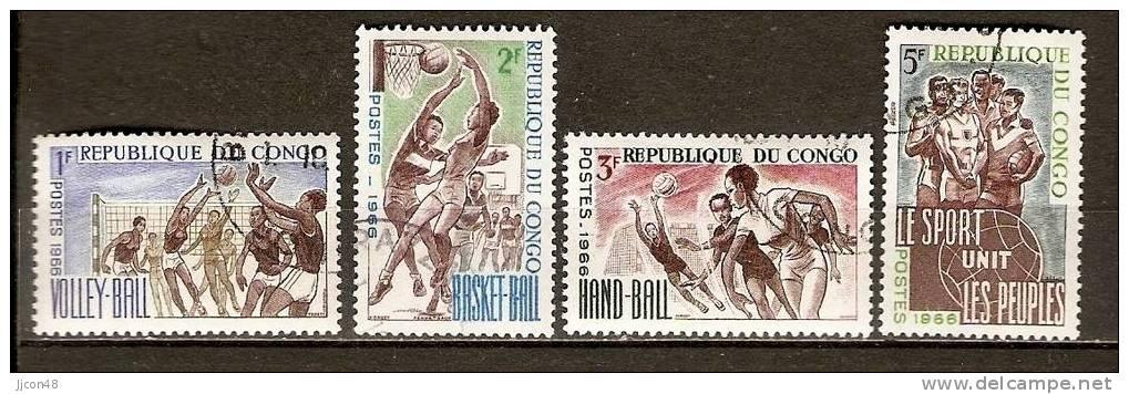 Congo 1966 Sport  (o) - Used