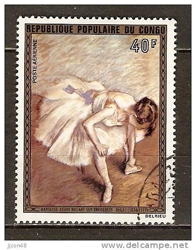 Congo 1974 Impressionist Paintings (o) - Used