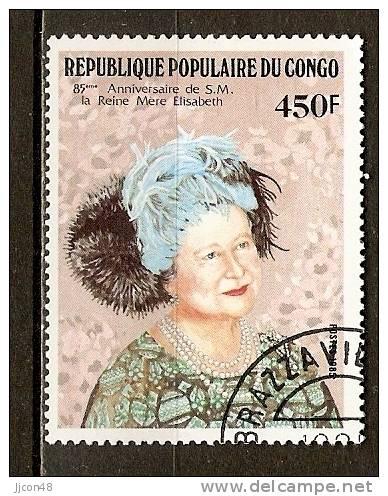 Congo 1985  Queen Mother   (o) - Congo - Brazzaville