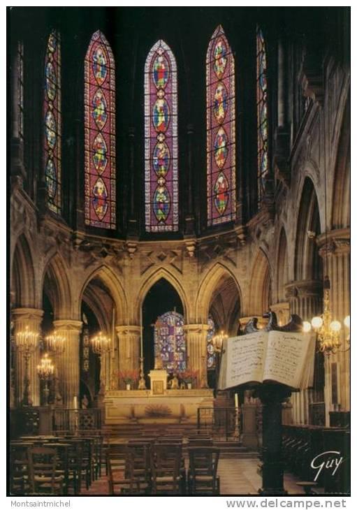 Paris 75. Eglise Saint Germain L´Auxerrois. Le Choeur. - Eglises