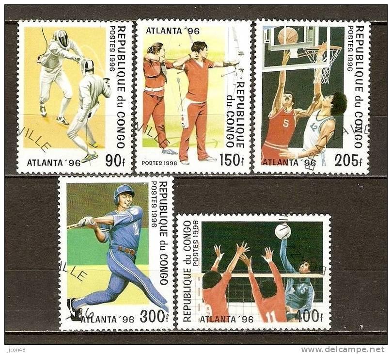 "Congo 1996 ""Olympics ATLANTA""  (o) - Congo - Brazzaville"