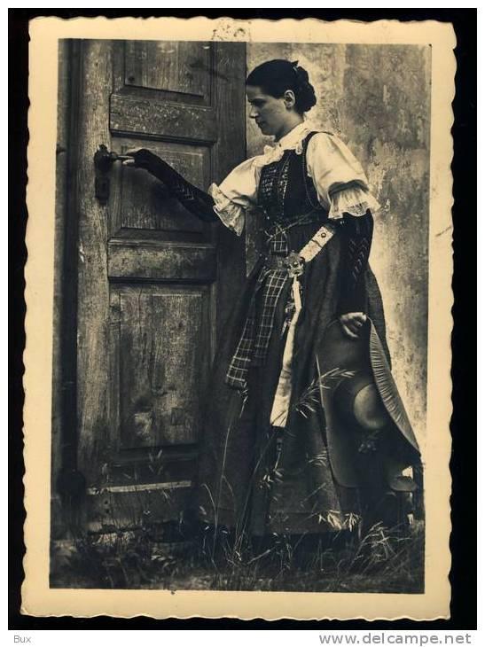 COSTUMI  CASTELROTTO BOLZANO BOZEN  AUS KASTELRUTH    VIAGGIATA COME DA FOTO ITALY ITALIE - Costumi