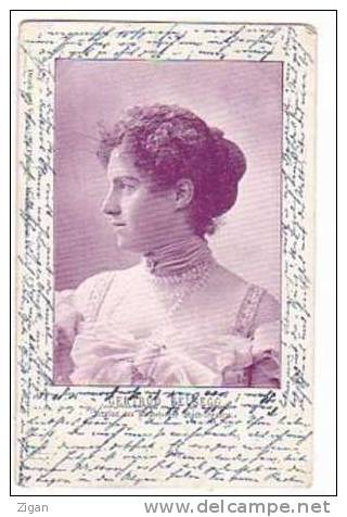 Gertrud Felsegg Mitglied Stadttheater Strassburg 1902 - Theater