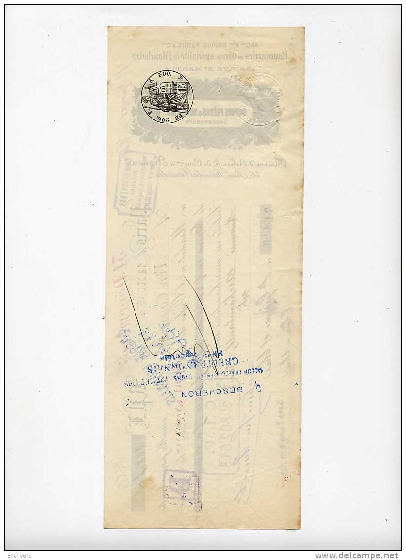 ROUENNERIES Specialité De Mouchoirs DUPUIS Freres Et ROUILLARD Anc Dupuis Putois-bescheron Huissier Montrichard- 1905 - France
