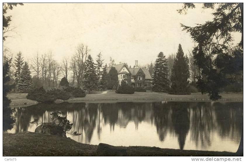 POLOGNE - Carte-Photo - Lieu à Situer - Scan Verso Joint - Propriété Château - Pologne