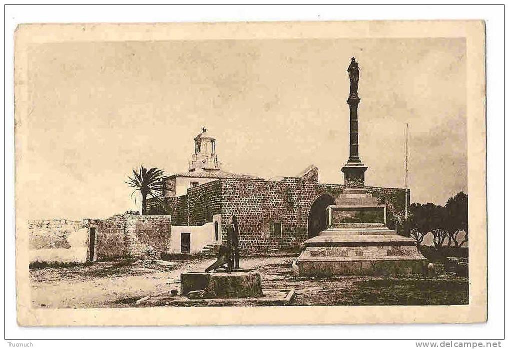 """M1669 - Monument Du Chili à La B Vierge Du Carmel - Phare Et Palais Dit """" Abdallah Pacha"""" - Chili"""