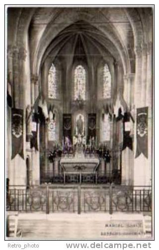 Ressons Sur Matz - Carte-photo, Intérieur De L'église - France