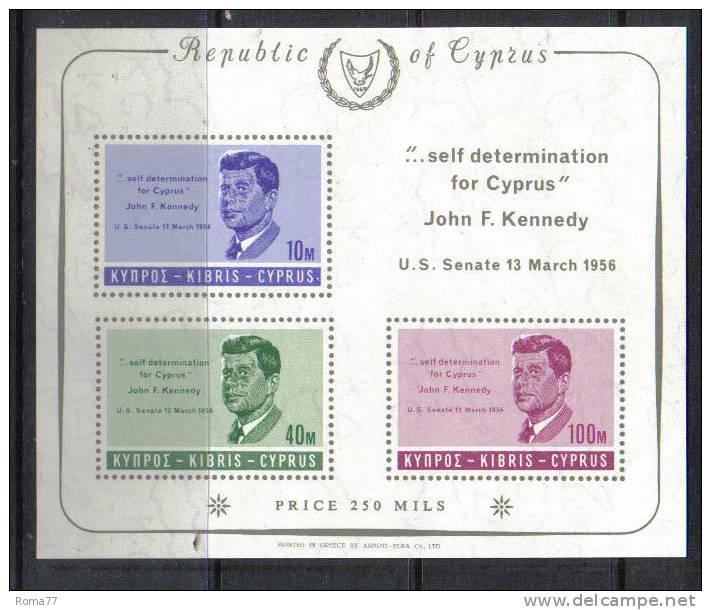 ENR66A - CIPRO , Kennedy : Il BF N. 3  *** - Non Classificati