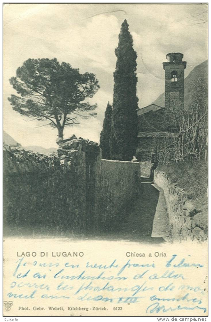 Lago Di Lugano - Chiesa A Oria - Other Cities