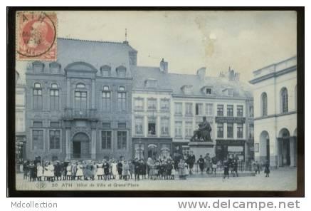 ATH  Hôtel De Ville Et Grand'Place - Ath