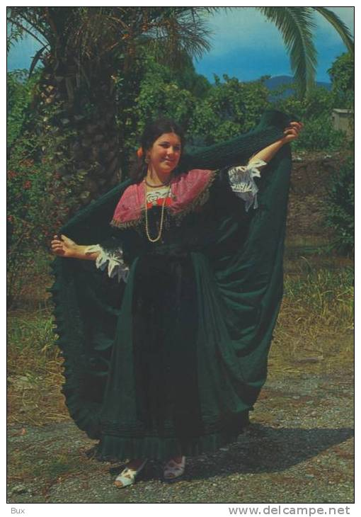 CATANZARO  CALABRIA  COSTUMI  COSTUME VIAGGIATA COME DA FOTO ITALY ITALIE - Costumi