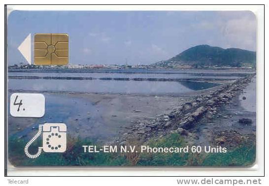 SAINT-MARTIN (4) Télécarte Phonecard Telefonkarte * St. MARTIN * ST. MAARTEN - Saint-Marin