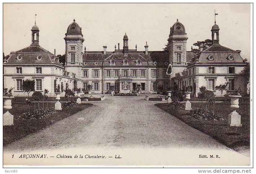 72 ARCONNAY Château De La Chevalerie - Non Classificati