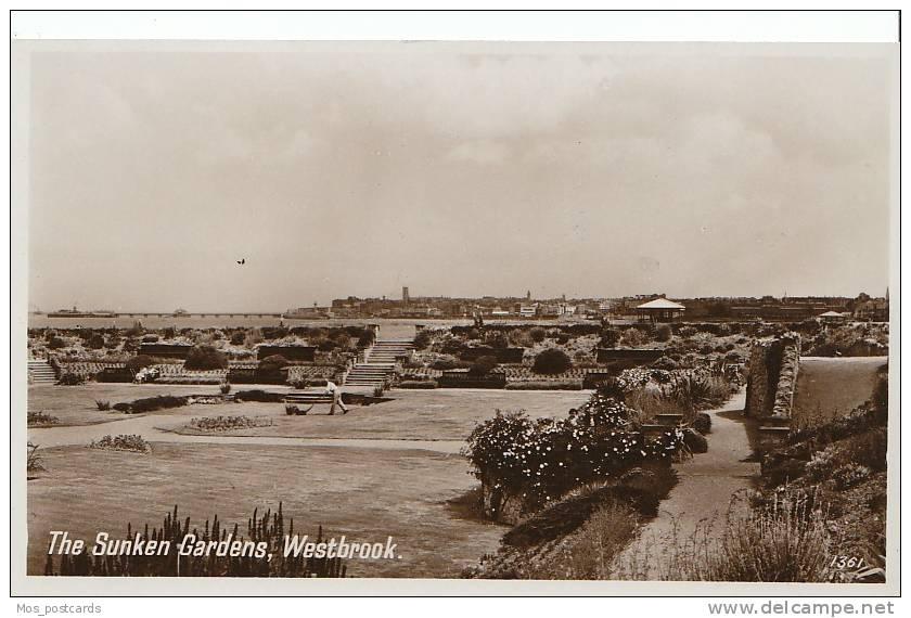 Kent -The Sunken Gardens, Westbrook, Real Photo   B119 - England