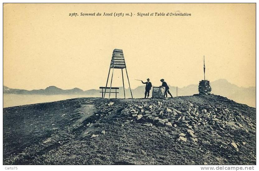 Table D'orientation 73 - Sommet Du Jovet - Monuments