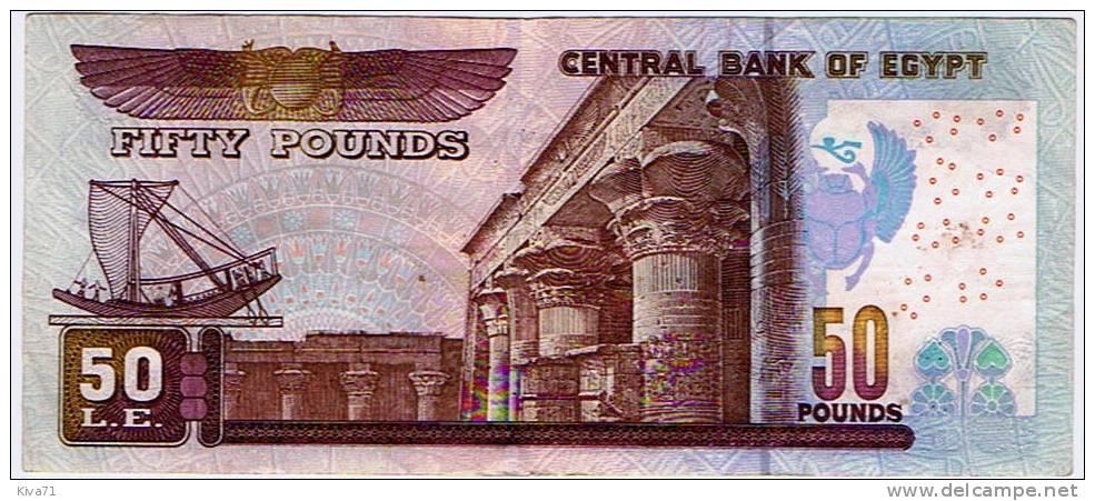 """50 Pounds   """"EGYPTE""""    2004    UNC  Bc25 - Egypt"""