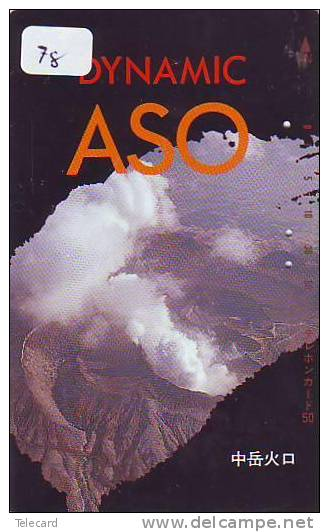 Volcan Volcano Vulkan Sur Telecarte (78) - Volcans