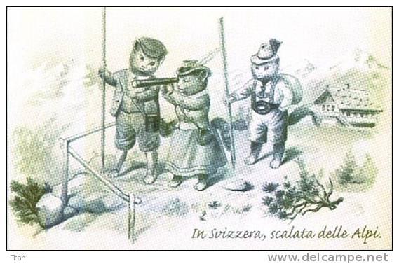 IN SVIZZERA, SCALATA ALLE ALPI - Costumi